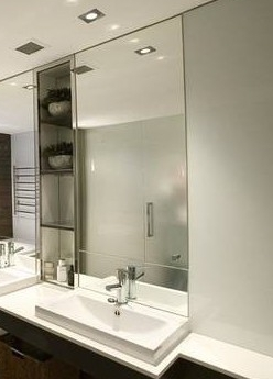 Mirrors All Types Frameless Wall Mirrors Gyms And